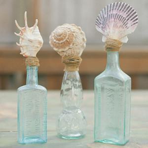 Mermaid Shell Topped Bottles