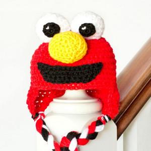 Free Crochet Patterns For Elmo Hat : Free Elmo Pattern submited images.