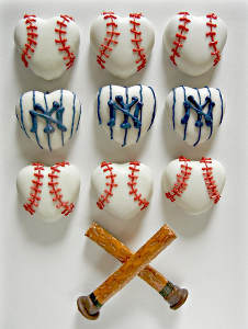 I Heart Baseball Edible Crafts