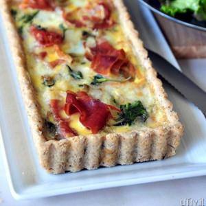 Spinach Tart Brunch Recipe