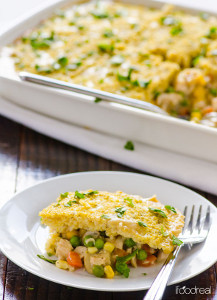 Quinoa Chicken Pot Pie