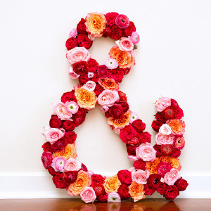 Floral Muse Ampersand