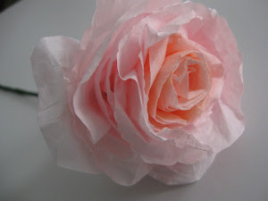 Completely Incredible Coffee Filter Roses