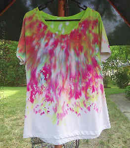 Drip Drop Tie Dye Design