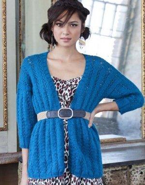Plus Size Knitting Patterns : Full and Fabulous: 14 Plus Size Sweaters & Knit Cardigan Pattern Ideas ...