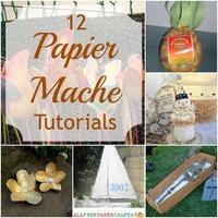 12 Papier Mache Crafts: How to Make Papier Mache and Other Papier Mache Ideas