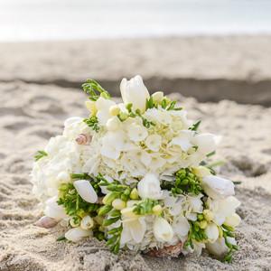 由海边夏天花束