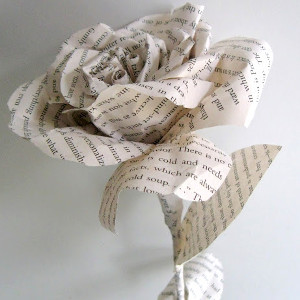 More Than Words Paper Flower Tutorial