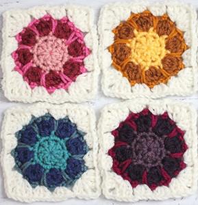 Kaleidoscope Granny Square Pattern Holidays OO