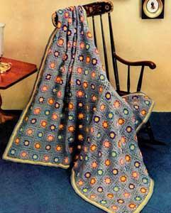 Eclectic Indoor Garden Afghan