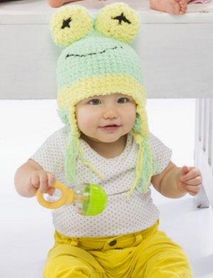 Free Knit Pattern Baby Frog Hat : 31 Unbelievably Cute Baby Knit Hats AllFreeKnitting.com