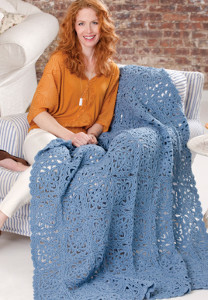 Sky Blue Lace Crochet Pattern