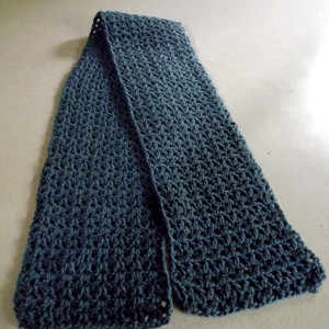 Beginners Crochet Patterns For Scarves : Beginner V-Stitch Crochet Scarf AllFreeCrochet.com