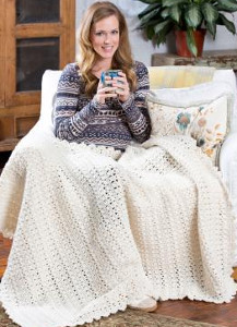 Snow Bunny Crochet Blanket Pattern