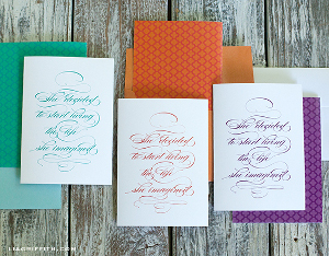 Imagine Quote and Free Printable Greeting Cards