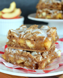 Creamy Caramel Apple Bars