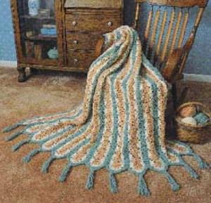 Worlds Fastest Crochet Afghan Pattern