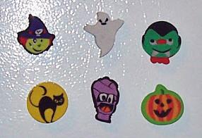 DIY Easy Halloween Magnets