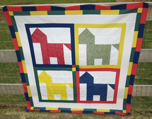 Day at the Races Horse Quilt