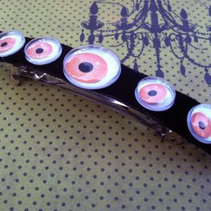 Scary Googly Eye Barrette