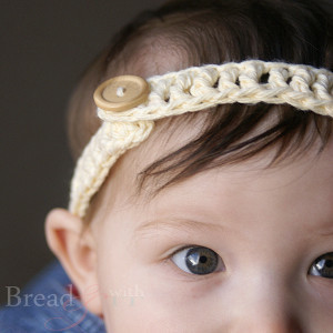 Baby Button Headband