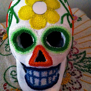 Day of the Dead Decorative Skull
