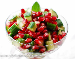 Fresh Pomegranate Salad