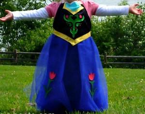 Frozen-Inspired Princess Anna Costume