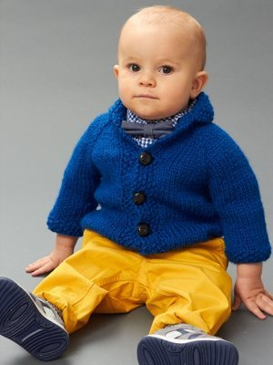 Chunky Knit Baby Cardigan Pattern Free : Bundle Up: 35+ Free Knitting Patterns Made with Bulky Weight Yarn AllFreeKn...