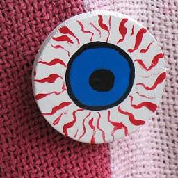 Jeepers Creepers Eyeball Pin