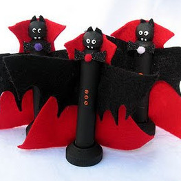 Batty Bat Halloween Crafts