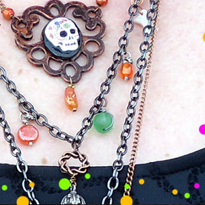Wicked Witch Beaded Necklace
