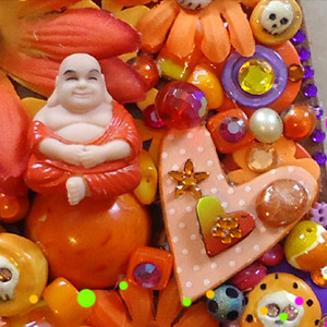 Kitsch Pumpkin Halloween Craft