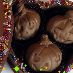 Halloween Polymer Clay Chocolates