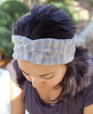 Twisted Headband Knitting Pattern