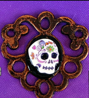 Totally Traditional Day of the Dead Cameo
