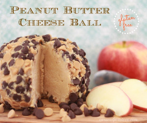 Creamy Peanut Butter Cheese Ball