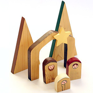 Silent Night Nativity Scene
