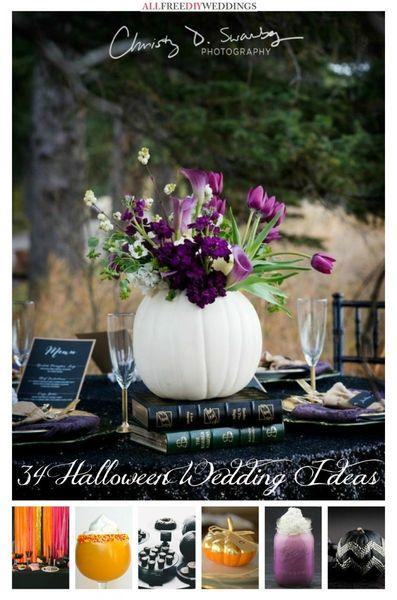 34 Halloween Wedding Ideas AllFreeDIYWeddingscom