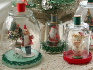 Sensational Christmas Glass Cloche