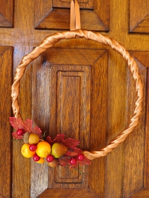 Fall Harvest Wreath