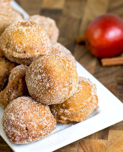 In-Your-Sleep Apple Cider Doughnut Bites