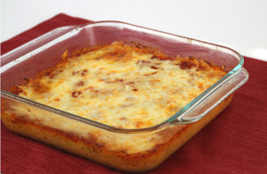 Extra-Cheesy Pizza Casserole