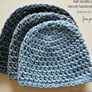 Crochet Basic Beanie Hat Pattern : 34 Beginner Crochet Hat Patterns AllFreeCrochet.com