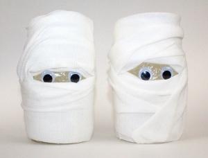 Mysterious Mummy Mason Jars