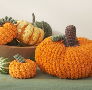 Awesome DIY Crochet Pumpkins