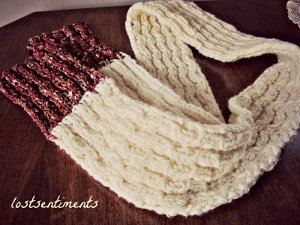 Coconut Milk Scarf