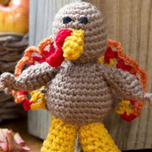 Li'l Turkey Crochet Pattern