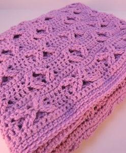 Orchid Crochet Baby Blanket Pattern ...