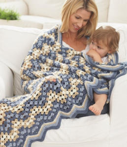 Country Fair Chevron Crochet Pattern